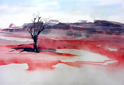 Solitary Art Print by Bill Brown