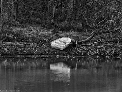 Photograph - Solitary Boat by Kathi Isserman