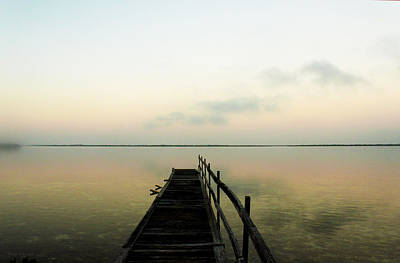 Photograph - Solitary Dock by Susan Vineyard
