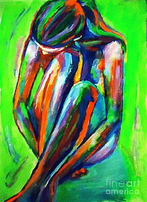 Solitary Figure Art Print