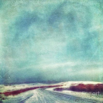 Solitary Journey Art Print by Priska Wettstein