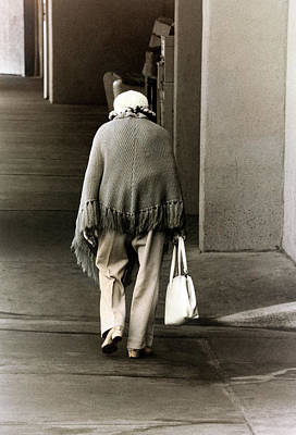 Photograph - Solitary Lady by Don Gradner