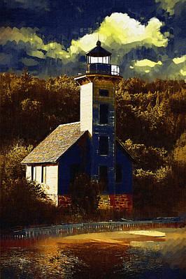 Solitary Lighthouse Original