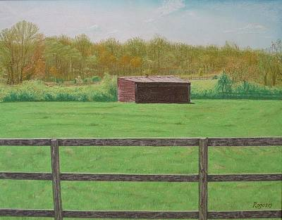 Solitary Shed Art Print
