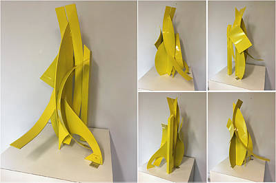 Sculpture - Solitary Soul by Mac Worthington