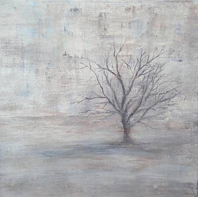 Painting - Solitary by T Fry-Green