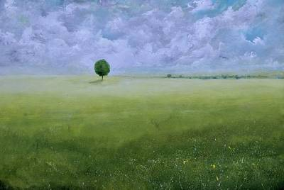 Painting - Solitary Tree by Alicia Maury