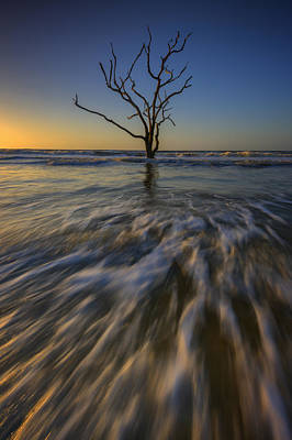 Solitude At Botany Bay Art Print by Rick Berk