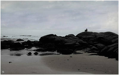 Photograph - Solitude At Goose Rocks by Wayne King