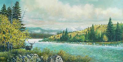 Painting - Solitude by Douglas Castleman