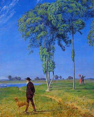Painting - Solitude by Treasury Classics Art