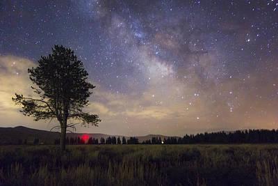 Star Field Photograph - Solitude by Jeremy Jensen