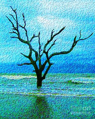 Digital Art - Solitude by Joseph Re