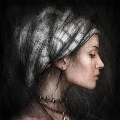 Solitude  Art Print by Justin Gedak