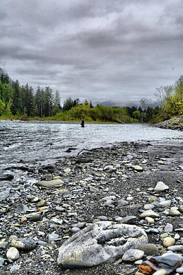 Photograph - Solitude On The River by Jason Brooks