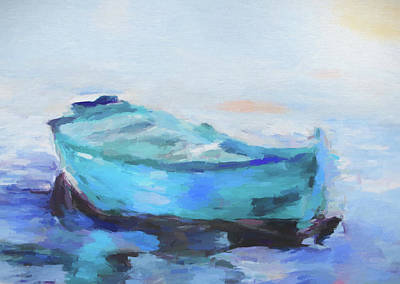 Solitude On The Sea Art Print by Dan Sproul