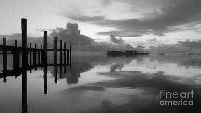 Photograph - Solitude Reflected At Sunrise by Benanne Stiens