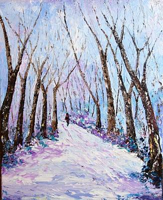 Painting - Solitude by Valerie Curtiss