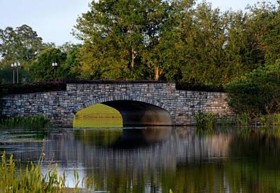 Solivita Stone Bridge Art Print by Lyle  Huisken