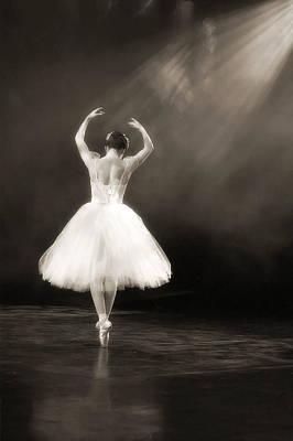 Tutus Digital Art - Solo Ballerina by Kenneth Mucke