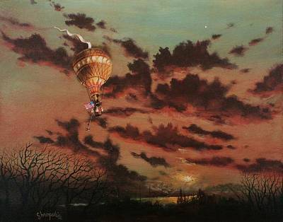 Solo Flight Art Print by Tom Shropshire