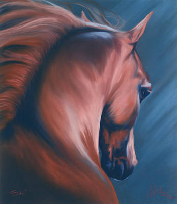 Wall Art - Pastel - Solo by Kim McElroy