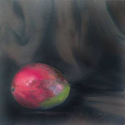 Painting - Solo Mango by Wendy Winbeckler Kanojo