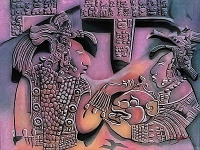 Mayan Mixed Media - Solo Maya Or by Dancin Artworks