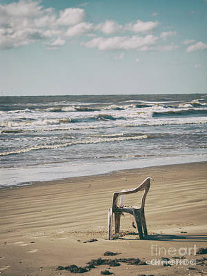 Photograph - Solo On The Beach by Charles McKelroy