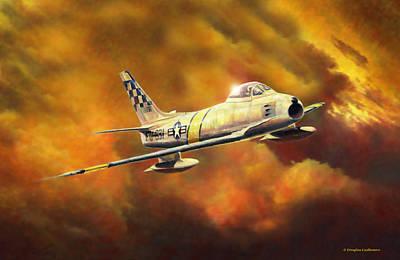 Painting - Solo Sabre by Douglas Castleman
