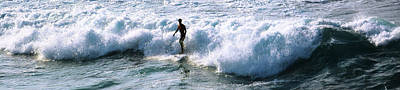 Photograph - Solo Surfer On Maui by Jerry Kalman