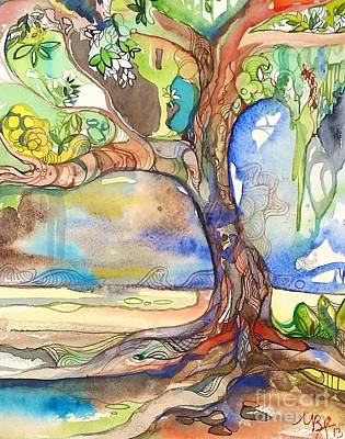 Solo Tree Art Print by Maya Simonson