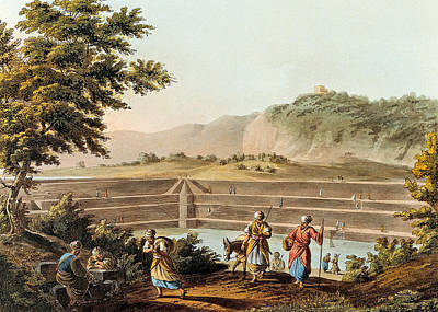 Photograph - Solomon Pools In 1803 by Munir Alawi