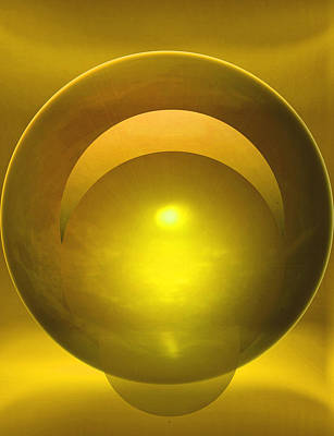 Abstract Expressionist Digital Art - Solstice by John Krakora