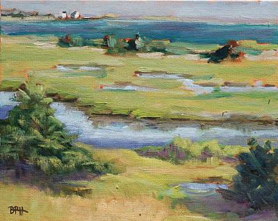 Chatham Painting - Solstice Light by Barbara Hageman