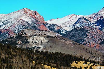 Photograph - Solstice Pikes Peak by Steve Krull