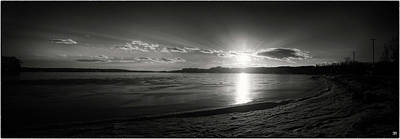 Photograph - Winter Solstice Sunset 1 by John Meader