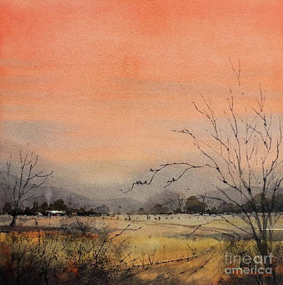 Painting - Solstice Sunset by Tim Oliver