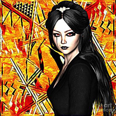 Digital Art - Solus Est Infernum by Lita Kelley
