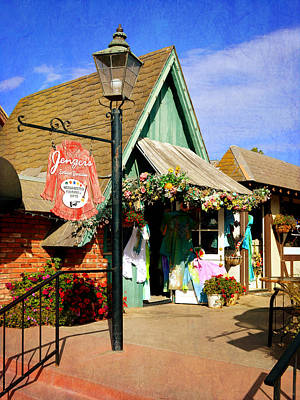 Photograph - Solvang 2 - Small Town America by Glenn McCarthy Art and Photography