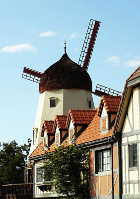 Photograph - Solvang, California by Mary Capriole