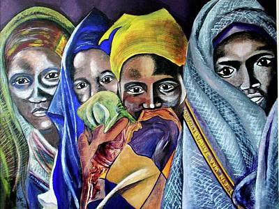 Somali Women Art Print by Miriam Kalb