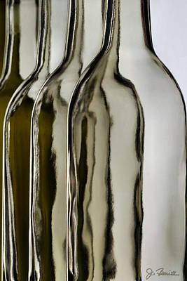 Bottle Photograph - Somber Bottles by Joe Bonita