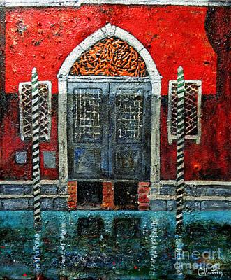 Venetian Doors Painting - Sombra Di Cinque Ora by Callan Percy