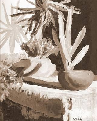 Sombras Art Print by George I Perez