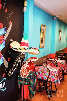 Bama Photograph - Sombrero Mexican Restaurant Spain by Chuck Kuhn