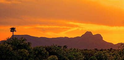 Photograph - Sombrero Peak Sunset H5 by Mark Myhaver