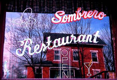 Sombrero Restaurant Print by Jame Hayes
