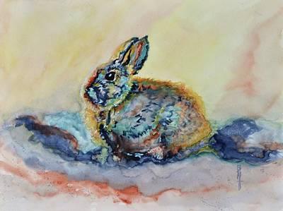 Some Bunny Art Print
