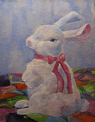Painting - Some Bunny by Kathleen Harrington
